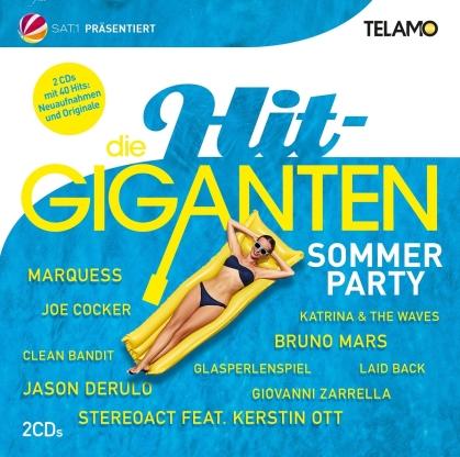 Die Hit Giganten - Sommer Party (2 CDs)
