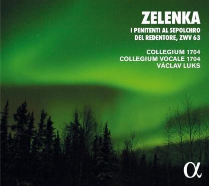 Collegium 1704, Jan Dismas Zelenka (1679-1745), Vaclav Luks & Collegium Vocale 1704 - I Penitenti Al Sepolcro (2021 Reissue)