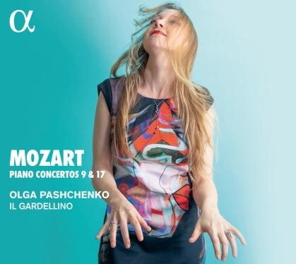 Il Gardellino, Wolfgang Amadeus Mozart (1756-1791) & Olga Pashchenko - Piano Concertos 9 & 17
