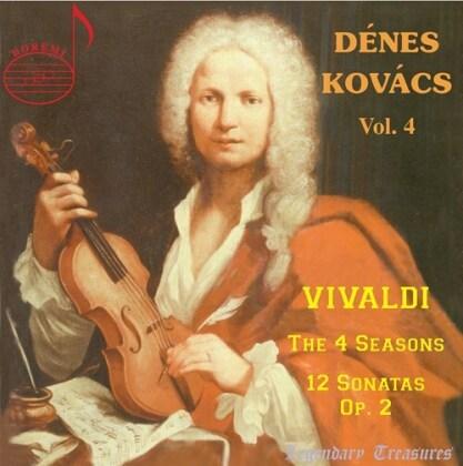 Hungarian Radio Chamber Orchestra, Antonio Vivaldi (1678-1741) & Dénes Kovács - Denes Kovacs 4 - The 4 Seasons, 12 Sonatas Op. 2 (2 CDs)