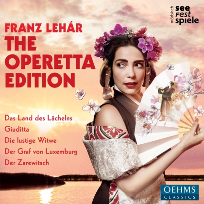 Festival Orchestra Morbisch & Franz Lehar (1870-1948) - The Operetta Edition (5 CDs)