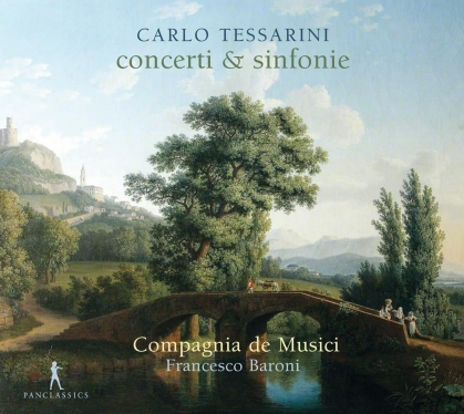Compagnia De Musici, Carlo Tessarini (c.1690-after December 1766) & Francesco Baroni - Concerti & Sinfonie