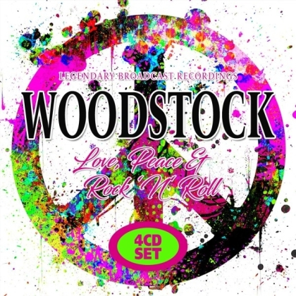 Woodstock - Love, Peace And Rock N Roll (4 CDs)