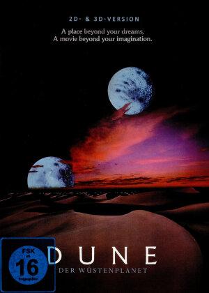 Dune - Der Wüstenplanet (1984) (Moons Cover, Limited Edition, Mediabook, Blu-ray 3D (+2D) + CD)