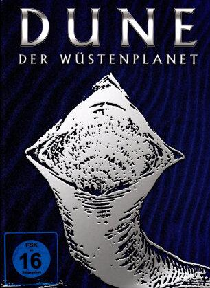 Dune - Der Wüstenplanet (1984) (Silver Cover, Limited Edition, Mediabook, Blu-ray 3D (+2D) + CD)