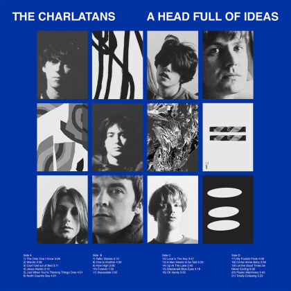 The Charlatans - A Head Full Of Ideas (Best Of) (Deluxe Edition, 2 CDs)