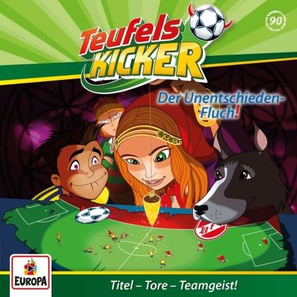 Teufelskicker - 090/Der Unentschieden-Fluch!
