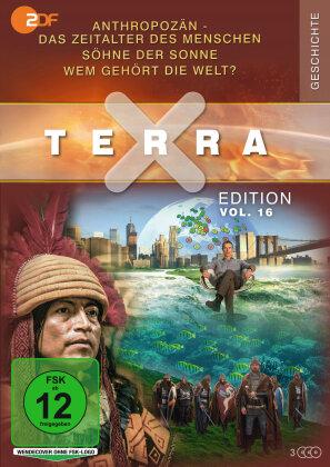 Terra X Edition - Vol. 16: Anthropozän - Das Zeitalter des Menschen / Söhne der Sonne / Wem gehört die Welt? (3 DVDs)