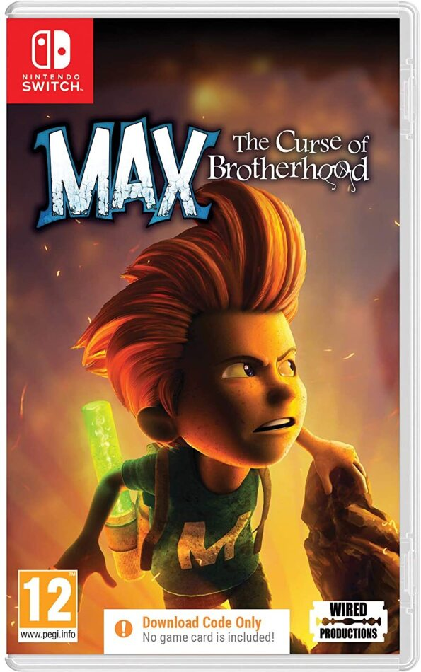 Max - The Curse of Brotherhood (Code in a Box)