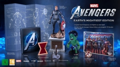 Marvel's Avengers - Earth's Mightiest Edition (inkl. kostenloses Upgrade auf Xbox Series X)