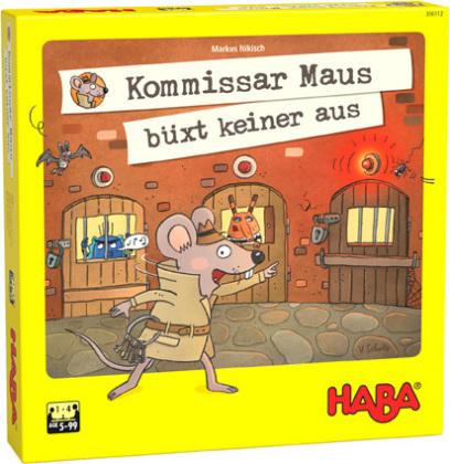 Kommissar Maus büxt keiner aus! (Kinderspiel)