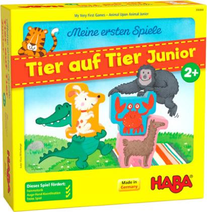 Meine ersten Spiele - Tier auf Tier Junior (Kinderspiel)