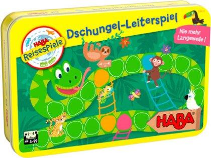 Dschungel-Leiterspiel (Kinderspiel)
