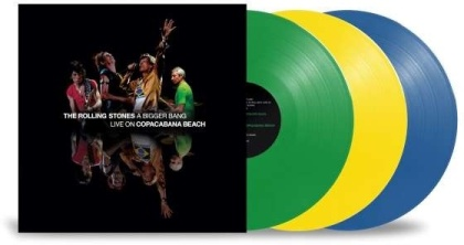 The Rolling Stones - A Bigger Bang, Live In Rio 2006 (Limited Edition, 3 LPs)