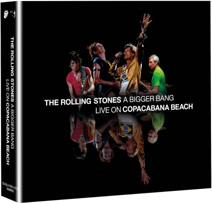 The Rolling Stones - A Bigger Bang - Live In Rio 2006 (Blu-ray + 2 CDs)