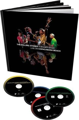 The Rolling Stones - A Bigger Bang - Live In Rio 2006 (Deluxe Edition, Edizione Limitata, 2 DVD + 2 CD)