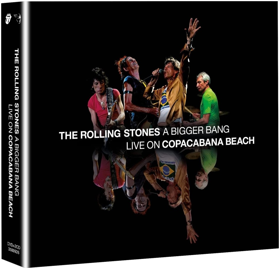 The Rolling Stones - A Bigger Bang - Live In Rio 2006 (DVD + 2 CDs)