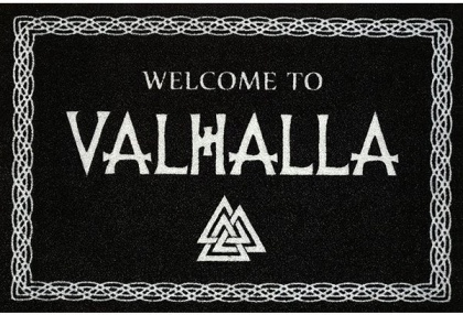 Welcome to Valhalla - Fußmatte
