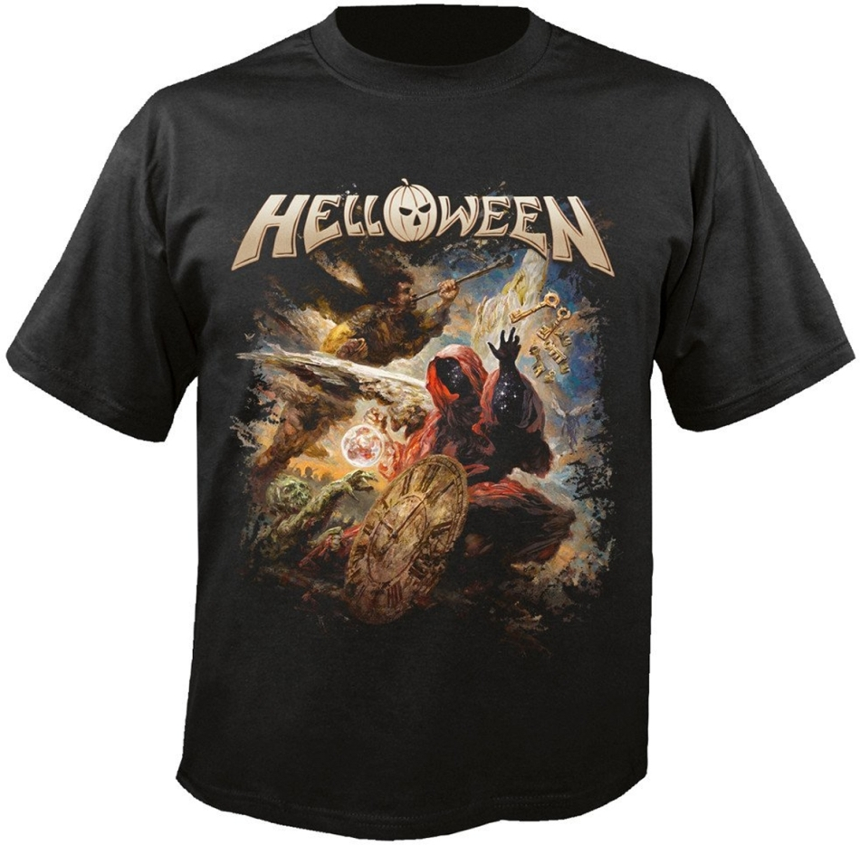 Helloween - Helloween Cover T-Shirt - Grösse M