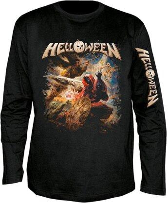 Helloween - Helloween Cover Longsleeve - Grösse M