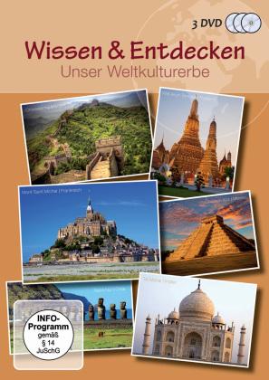 Wissen & Entdecken - Unser Weltkulturerbe (3 DVDs)