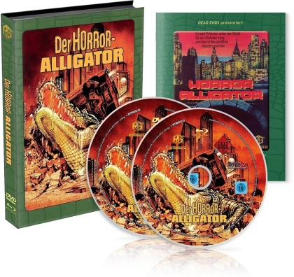 Der Horror-Alligator (1980) (Wattiert, Limited Edition, Mediabook, Blu-ray + DVD)