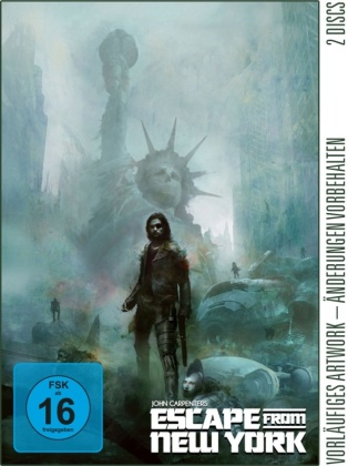 Escape from New York (1981) (Piece of Art Box, Limited Edition, 4K Ultra HD + Blu-ray)