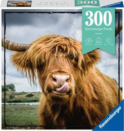 Ravensburger Puzzle Moment 13273 - Highland Cattle - 300 Teile Puzzle für Erwachsene und Kinder ab 14 Jahren