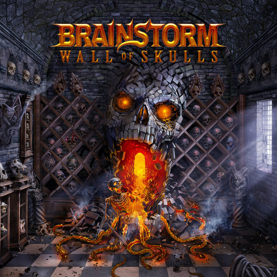 Brainstorm (Heavy) - Wall Of Skulls - + Live Blu-Ray (Digibook, Limited Edition, CD + Blu-ray)