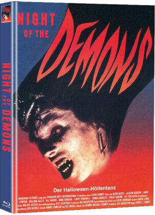 Night of the Demons (1988) (Limited Edition, Mediabook, Blu-ray + DVD)