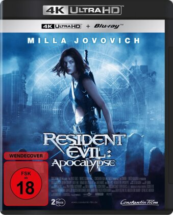 Resident Evil 2 - Apocalypse (2004) (Extended Edition, Kinoversion, 4K Ultra HD + Blu-ray)