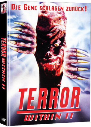 Terror Within 2 (1990) (Limited Edition, Mediabook, 2 DVDs)