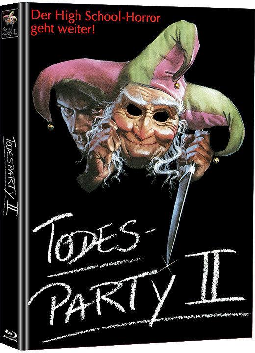 Todesparty 2 (1989) (Edizione Limitata, Mediabook, Blu-ray + DVD)