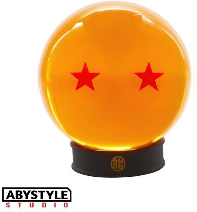 Boule de Cristal à 2 Étoiles + socle - Dragon Ball - 7.5 cm