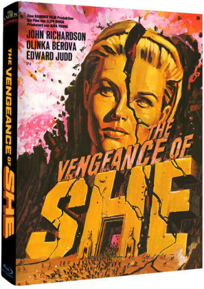 The Vengeance of She (1968) (Cover A, Limited Edition, Mediabook)