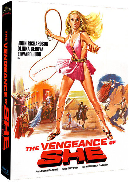 The Vengeance of She (1968) (Cover B, Limited Edition, Mediabook)