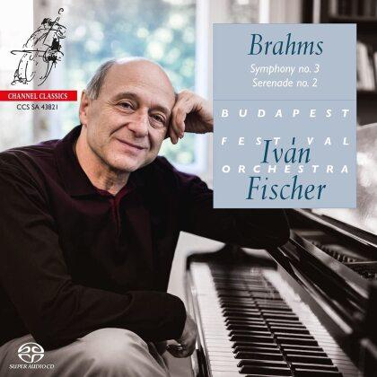 Ivan Fischer, Johannes Brahms (1833-1897) & Budapest Festival Orchestra - Symphony No. 3, Serenade No. 2 (Hybrid SACD)