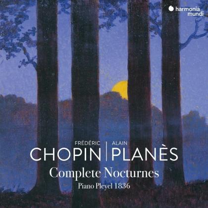 Frédéric Chopin (1810-1849) & Alain Planes - Complete Nocturnes (2 CDs)