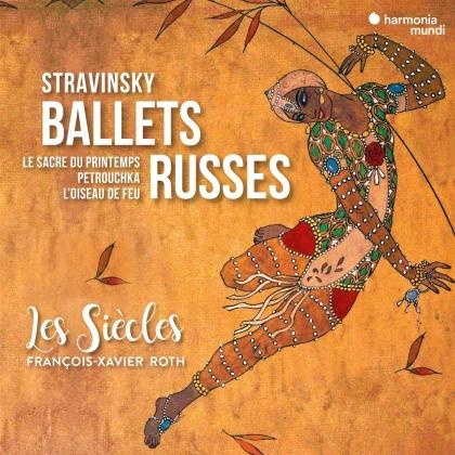 Les Siècles, Igor Strawinsky (1882-1971) & François-Xavier Roth - Ballets Russes (2 CDs)