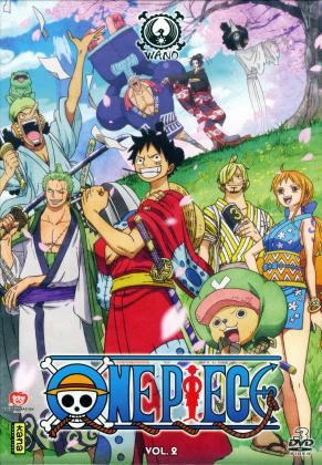 One Piece - Pays de Wano - Vol. 2 (3 DVDs)