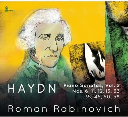 Joseph Haydn (1732-1809) & Roman Rabinovich - Piano Sonatas, Vol. 2 (2 CDs)