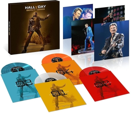 Johnny Hallyday - Bercy 2003 (Limitiert, 2021 Reissue, 4 LPs)
