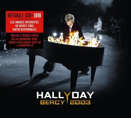 Johnny Hallyday - Bercy 2003 (2021 Reissue, 2 CDs + DVD)