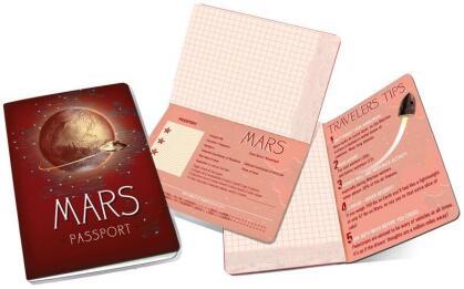 Mars Passport Notizbuch