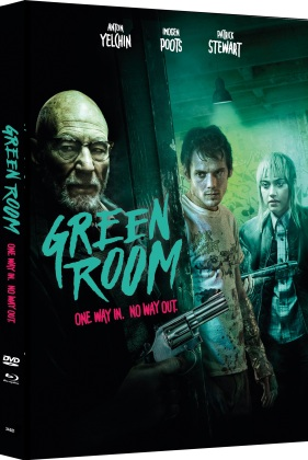 Green Room (2015) (Cover C, Limited Edition, Mediabook, Blu-ray + DVD)