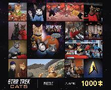Star Trek Cats - 1000-Piece Puzzle