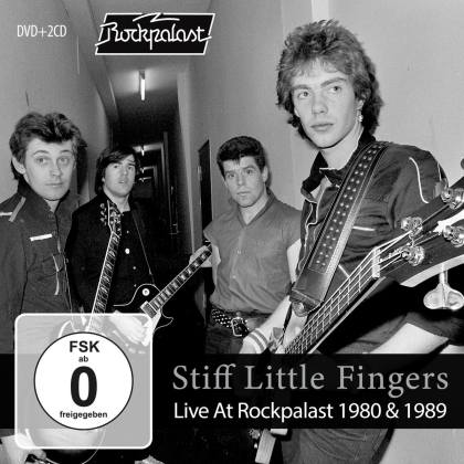 Stiff Little Fingers - Live At Rockpalast 1980 & 1989 (CD + DVD)