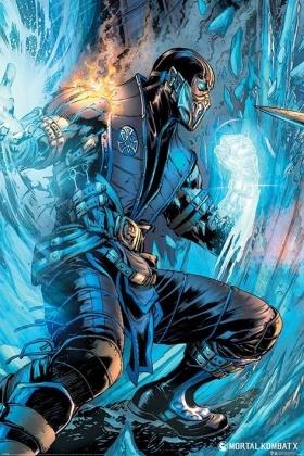 Mortal Kombat: Sub Zero - Maxi Poster