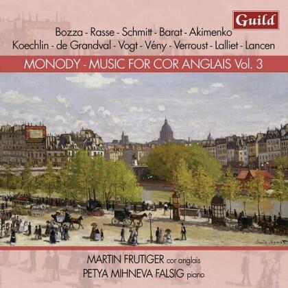Martin Frutiger & Petya Mihneva Falsig - Music For Cor Anglais 3