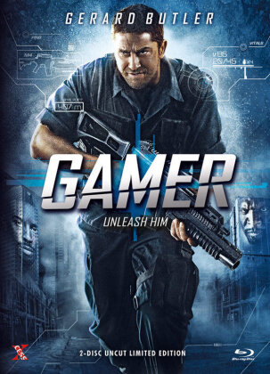 Gamer (2009) (Cover A, Limited Collector's Edition, Mediabook, Uncut, Blu-ray + DVD)